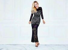 GUESS BY MARCIANO BEATRIXS LACE MAXI DRESS GOWN