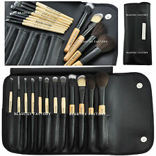 BF NUOVO 12pcs Cosmetici Make-up Brush Set Kit Pennelli / applicatori Foresta # 306K