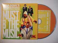 DE LA SOUL'S PLUGI ... FIRST SERVE : MUST B THE MUSIC ♦ CD SINGLE PORT GRATUIT ♦