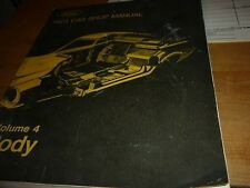 1973 FORD MUSTANG TORINO MARQUIS LINCOLN MARK IV COUGAR COMET SHOP MANUAL BODY