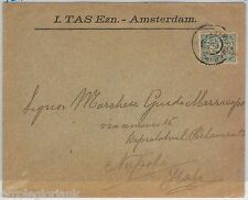 NETHERLANDS Nederland -  POSTAL HISTORY: PERFIN stamps on COVER to ITALY
