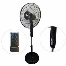 Ventilatore a Piantana DynaSun DS102RC 60W con Display LED Telecomando e Timer