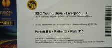 TICKET UEFA EL 2012/13 YB Bern - Liverpool FC