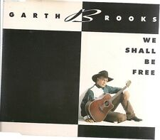 Garth Brooks We Shall Be Free UK CD Single
