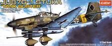 Academy Junkers Ju-87G-1 STUKA Citerne Buster PièceG2 Pack modèle-kit 1:72 87 G