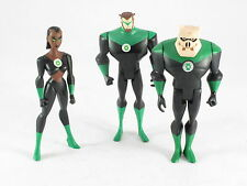 DC Justice League Unlimited JLU Lot Kilowog Arkis Chummuck Katma Tui 4-5""