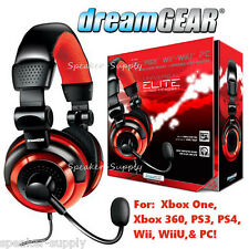 Universal Gaming Elite Wired Headset For Xbox One PS4 PS3 PC Over Ear DGUN-2571