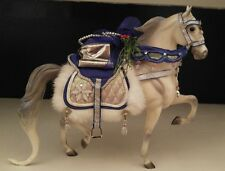 Snow Princess - 2006 Holiday Christmas Horse Breyer on NSH Mold #700106
