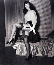 Bettie Page Up Skirt  5 x 7 Photograph