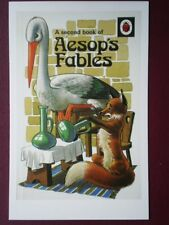 POSTCARD  LADYBIRD BOOK COVER - AESOP'S FABLES