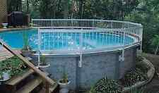 Above Ground Swimming Pool Water Safety Drowning Prevention Fence 8-Sections Kit