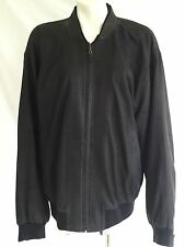 CRIST GERMAN LEATHER Mens Dark Navy Jacket