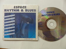 CD Sampler 7 titres Espace Rhythm & blues JMS 160793 LEE HOOKER DOMINO JOE TEX