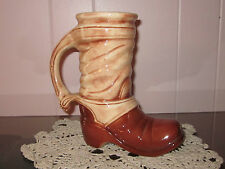 Vintage McCoy Pottery USA Cowboy Boot Beer Stein (6039)