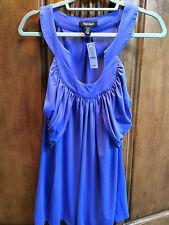 White House Black Market Women's Sleeveless Horseshoe Neck Blouse Size XL NWT