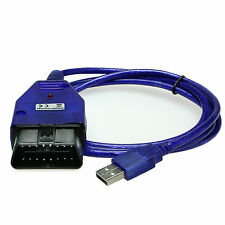 Cavo Interfaccia OBD 2 II VAG KKL USB VW Audi Seat Skoda x Diagnosi FTDI 2012