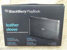 BLACKBERRY PlayBook UFFICIALE RIM Manica Custodia in pelle-NUOVO!!! ORIGINALE