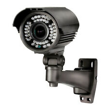 Sony imx 2 mp 2.8-12mm 1080P ONVIF P2P POE Noir 40m Bullet CCTV Caméra IP Audio