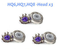 3pc NEW Replacement Shaver Heads Norelco Philips HQ8  Spectra Sensotec Prec