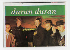 1980s Spanish Pop Star Card #111 UK Girls on Film New Wave Group Duran Duran