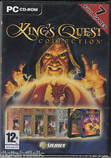 Kings Quest Collection 7 Full Games PC Brand New Sealed Fast Shipping