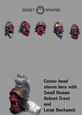 Secret Weapon BNIB Oni Mask Head Swaps With Helmets (5) CB1013