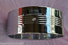 1980's CB-700 INTERNATIONALE CHROME SNARE DRUM SHELL for YOUR SET! LOT #H725