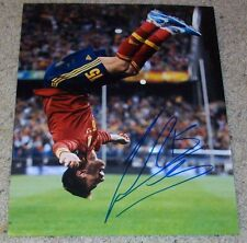 SERGIO RAMOS SIGNED AUTOGRAPH SPAIN 11x14 PHOTO B w/PROOF REAL MADRID ESPANA