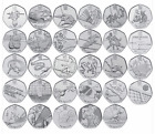 VARIOUS UK GB LONDON 2012 OLYMPIC 50P FIFTY PENCE COINS - SELECT FROM LIST 2011