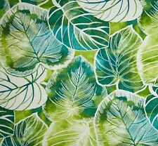 Outdoor/ Indoor ~ Upholstery ~ Jungle Leaves~ Fabric~  per 1 yard
