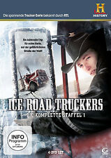 Ice Road Truckers komplette 1.Staffel Neu+in Folie eingeschweißt 4er DvD Set#L2