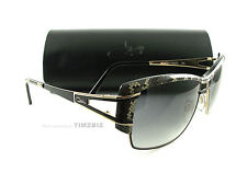 New Cazal Sunglasses Mod. 9052 Col. 003 Black Gold Snake Authentic