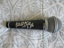 KATHERINE JENKINS Signed MICROPHONE DC/COA (RARE) DANCING WITH THE STARS