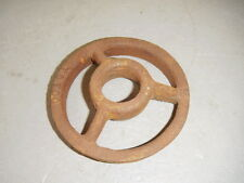 Rusty Cast Iron Steampunk Machine Age Burner Grate Totco Ring Baffle Plate