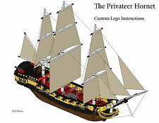 Privateer's Ship Custom Lego Pirate Imperial Armada (Instructions Only)