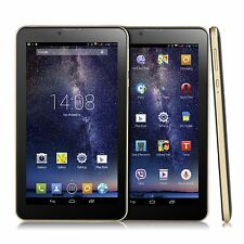 "7"" Inch Unlocked 3G 2SIM Smartphone Dual Core Android 4.4 GPS Bluetooth WIFI 4GB"
