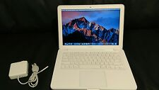 "Apple MacBook White 13"" A1342 250GB HDD, 8GB Ram, New OS X Sierra & Office 2016!"