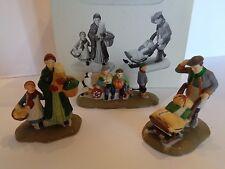 """Dept. 56 """"Market Day"""" Set of 3 Figures Heritage Village Collection #5641-3"""