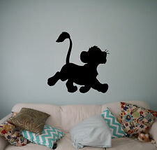 Lion King Simba Vinyl Decal Disney Wall Vinyl Stickers Home Interior Kids Room 6