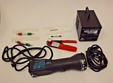 Coastal Cable Tools 727 cable stripper, Newhall Pacific crimper, and guage kit