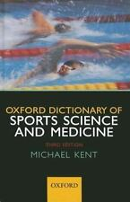 Oxford Dictionary of Sports Science and Medicine-ExLibrary