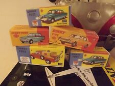corgi and dinky boxes any 7 A4 size box ( cheapest on ebay)