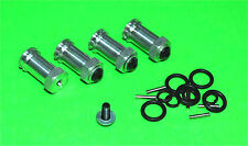 Aluminum 12mm Hex 17mm Wheel Extension Widener Kit Traxxas Rustler Stampede 2WD