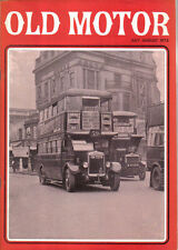 Old Motor Jul-Aug 1972 Vol 6 No 5 Invicta DKW Motorcycle Fire Engines Detroit