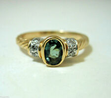 Alexandrite Ring  0.55ct  Color Change Green / Purple / Blue 14Kt Gold