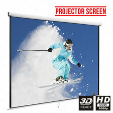 "100"" PROJECTOR SCREEN WALL CEILING"