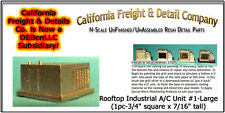 Rooftop Industrial A/C Unit #1-1pc-Lg N/Nn3/1:160-Scale California Freight *NEW*