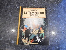 belle reedition tintin le temple du soleil  b29 1960/61