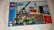 LEGO CITY CONTAINER STACKER 7992 - ONLY INSTRUCTIONBOOK