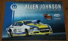 2014 Allen Johnson Mopar 50 Years of Hemi Dodge Dart Pro Stock NHRA postcard